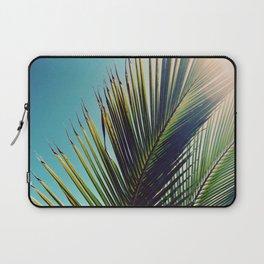 Sunny Palm Tree Laptop Sleeve