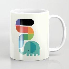 Rainbow Painter Coffee Mug