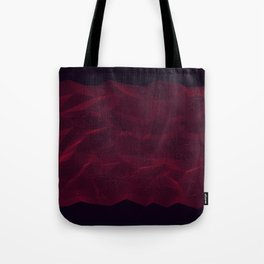 Facets - Dark Purple Tote Bag