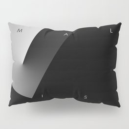 History of Art in Black and White. Minimalism Pillow Sham