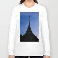 thailand Long Sleeve T-shirts featuring THAILAND by habish