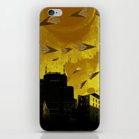 airplanes iPhone & iPod Skins featuring airplanes and cigarettes by Trevor Bittinger