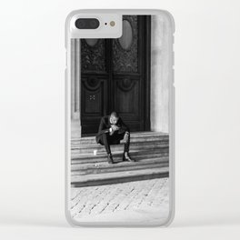 Tux Clear iPhone Case