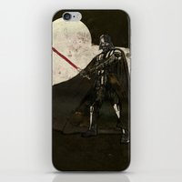 darth vader iPhone & iPod Skins featuring Darth Vader by Peter Coleman