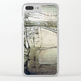 """Olmec"" Clear iPhone Case"