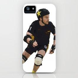 Star Jammer #RollerDerby #TyneAndFear #Sport #IHPart iPhone Case