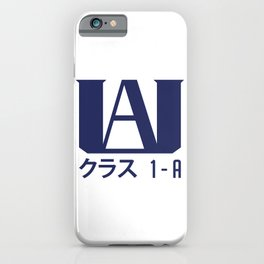 U.A. High School iPhone Case