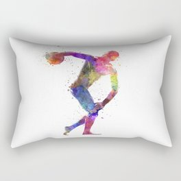 Discobolus Rectangular Pillow