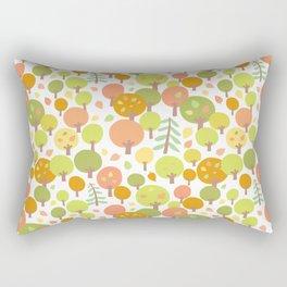 Atumn Forest Pattern Rectangular Pillow