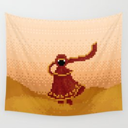 Pixelized: Journey Wall Tapestry
