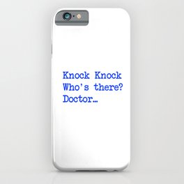 Knock-Knock 4 iPhone Case