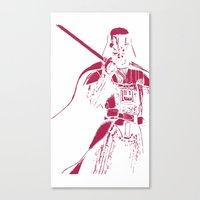 darth Canvas Prints featuring Darth by irwin0990
