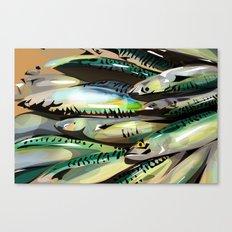Seafood Market Canvas Print