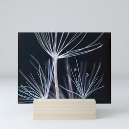 Botanical in Blue Mini Art Print