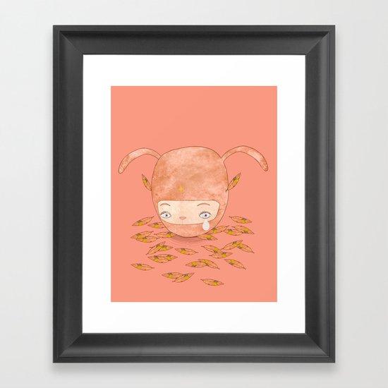 I DON'T MIND IF YOU FORGET ME FOREVER  Framed Art Print
