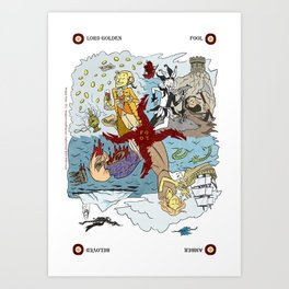 THE FOOL Art Print