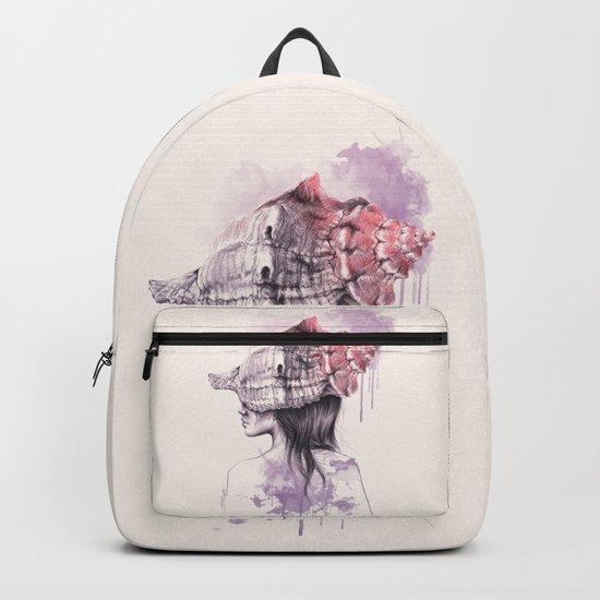 Inside my shell Backpack