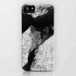 Cunningham Falls Rock Detail 1 iPhone Case