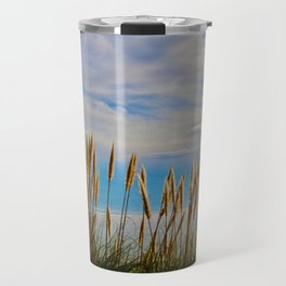 Fort Bragg's Ocean Cattails Travel Mug