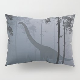 Dinosaur by Moonlight Pillow Sham