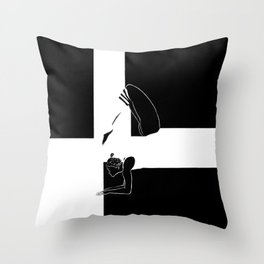 BW.Standing Throw Pillow