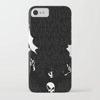 punisher iPhone & iPod Cases featuring The Punisher by Rob O'Connor