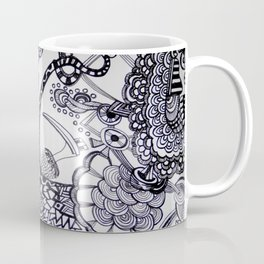 Bird and the chaos Coffee Mug