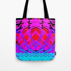 Neon Time Tote Bag