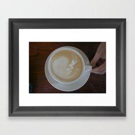 Ultrasound Framed Art Print