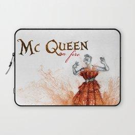 Mc Queen on fire Laptop Sleeve