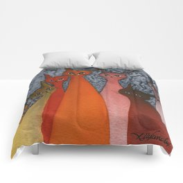 Casablanca Whimsical Cats Comforters