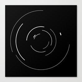 Orbital Mechanics by Diagraf and Ewerx Canvas Print