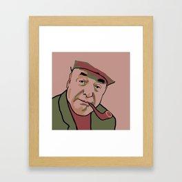 Pablo Neruda Framed Art Print