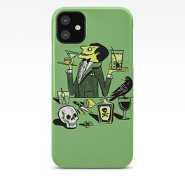 Drinks With The Mad Scientist Next Door iPhone Case