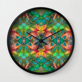 Floral Fractal Art G23 Wall Clock