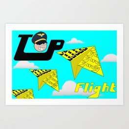 top flight swag Art Print