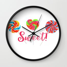 Sweet! Wall Clock