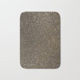 Bronze Gold Burnished Glitter Bath Mat