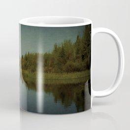 His reach exceeds his grasp. Coffee Mug