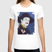 jack nicholson T-shirts featuring Joker Nicholson by FSDisseny