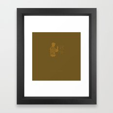 I Gotta See About a Girl -Good Will Hunting Framed Art Print