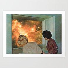 Curiosité divine  Art Print