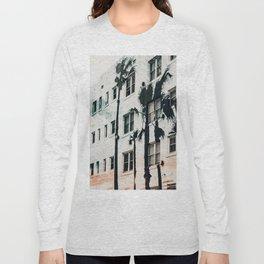 palm mural venice ii Long Sleeve T-shirt