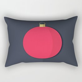 Christmas Globe - Illustration Rectangular Pillow