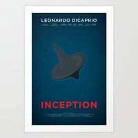 inception Art Prints featuring Inception by Martin Lucas