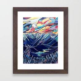 Silvercup Ridge, BC Framed Art Print