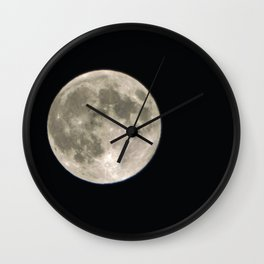 June Full Moon Collection 3 Wall Clock