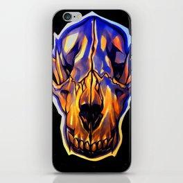 Wolf Skull iPhone Skin