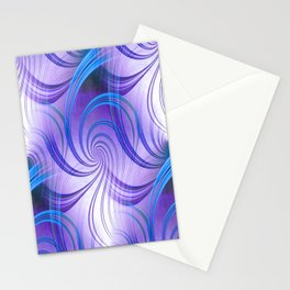 Pathways (purple) Stationery Cards