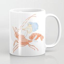 The Magnificent Shrimp Rider Coffee Mug